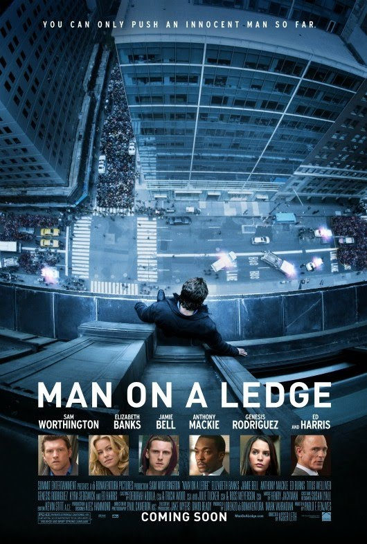 Man on a ledge New poster